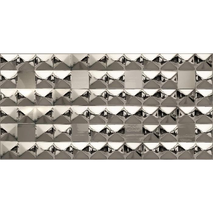 Metalix Diamond Silver Mirror 60x30
