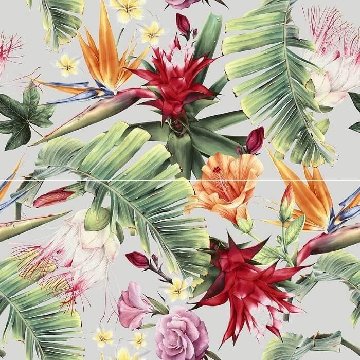Flower SET 2x60x30